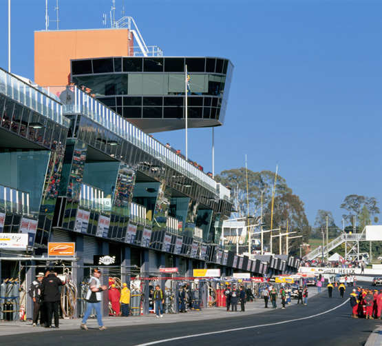 Press release: Allen Jack+Cottier designed raceway at Mount Panorama wins accolades
