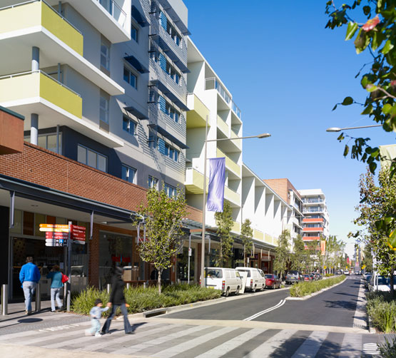 Announcement: UDIA Award judges give high rise at Rouse Hill the 'thumbs up'