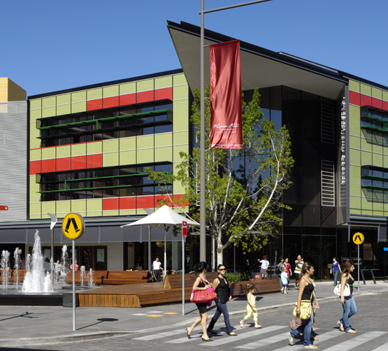 Rouse Hill Town Centre wins construction award