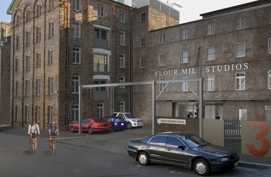 Press release: Flour Power – Former Mill Converts to Studio Strata