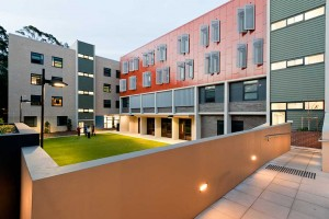 Robert Menzies College_exterior, student housing