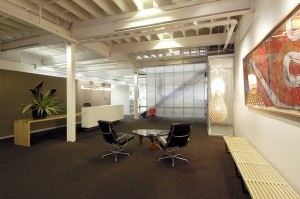 AJ+C office, Allen JAck+Cottier office, reception