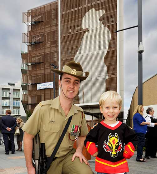 Two new projects honour soldiers