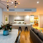 Macquarie Park Village display suite kitchen and dining