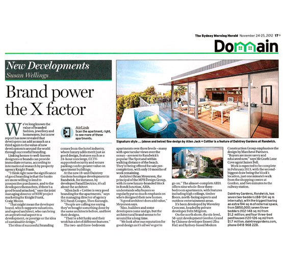 Brand Power the X factor