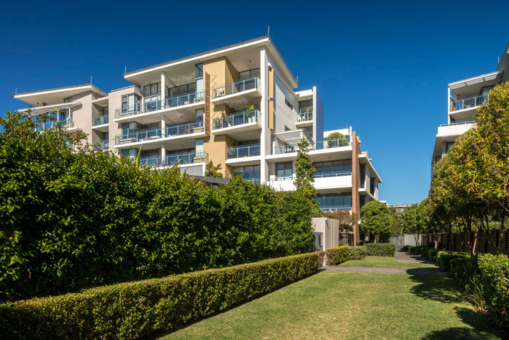 Balgowlah Village, stockland, urban public area,multi residential