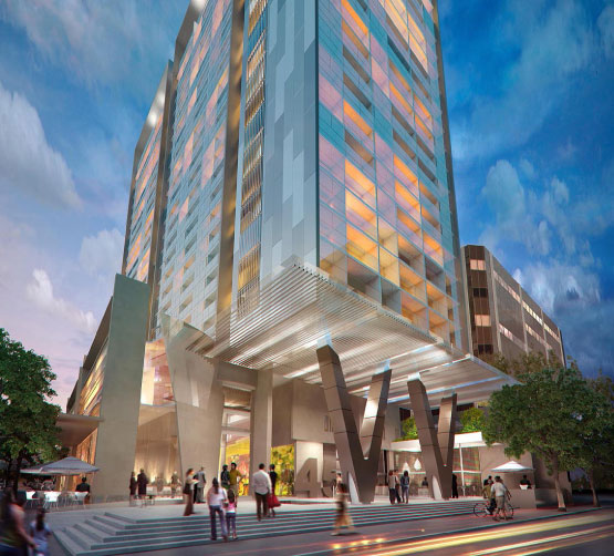 Press Release: Construction begins on V by Crown Parramatta