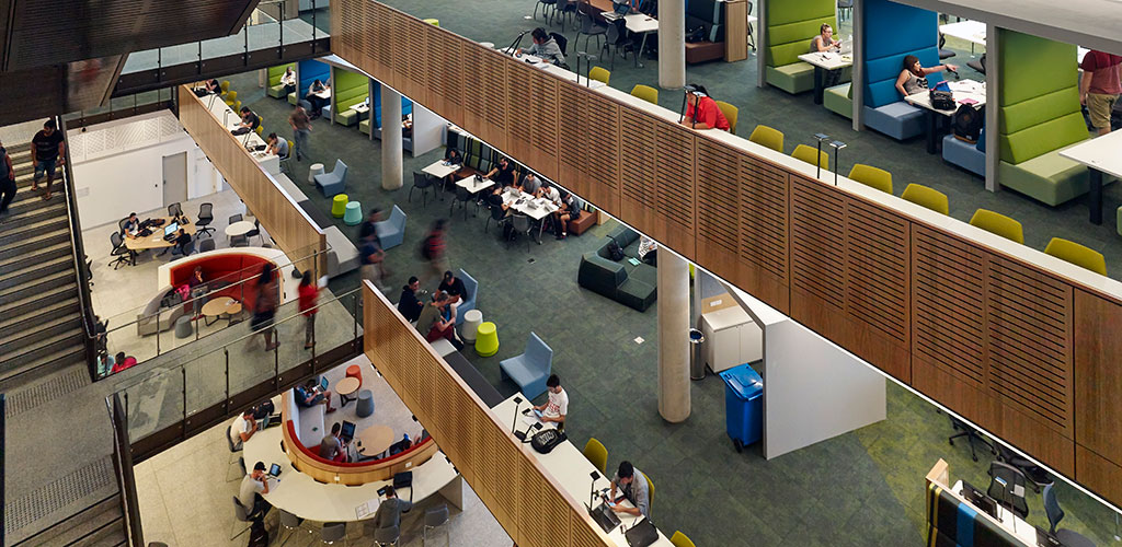 New Project Release: Collegiate, connected and lightfilled: A new campus library for the 21st Century