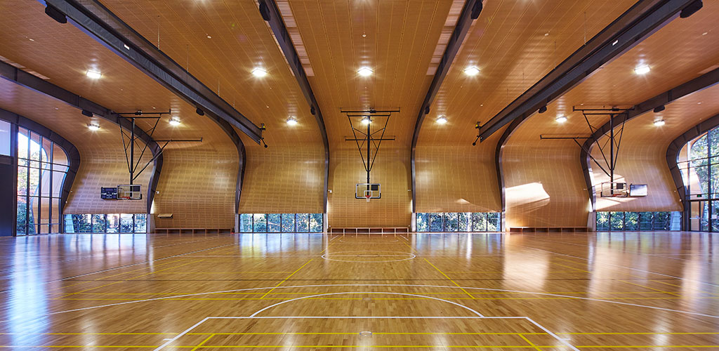 Abbotsleigh Sports Hall was amongst Australia's best timber projects celebrated at 2016 Australian Timber Design Awards