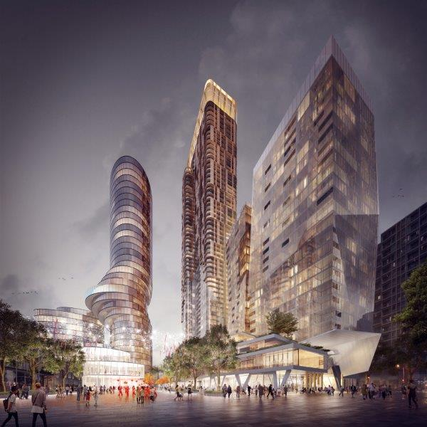 AJ+C and Koichi Takada are proud to be 1 of 3 architects in\ Parramatta Design Competition