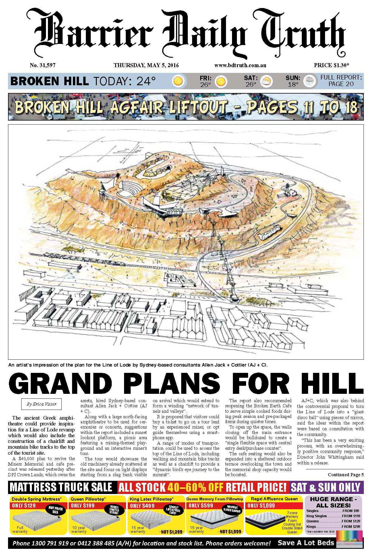 Grand Plans for Broken Hill