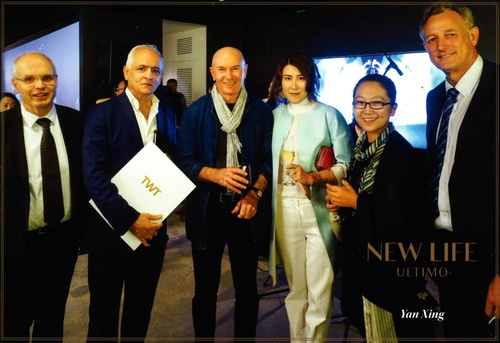 The AJ+C team with fellow guests attending TWT's 'New Life Ultimo' Launch.