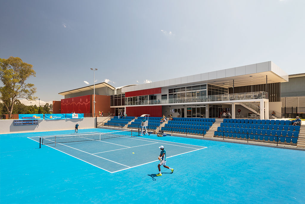 NEW PROJECT RELEASE: New AJ+C designed tennis centre opens in game, set and match for Blacktown
