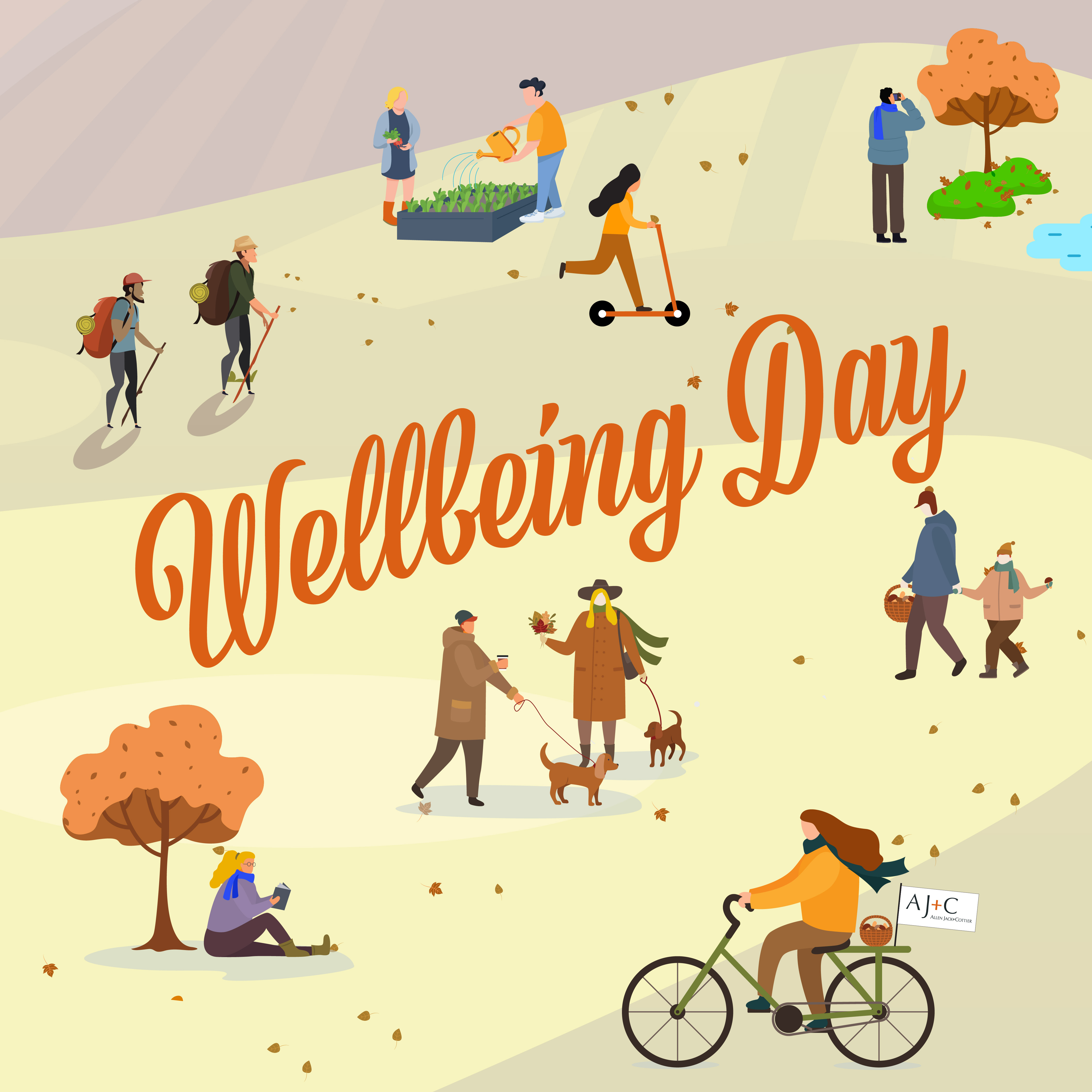 Saying 'thank you' with a wellbeing day