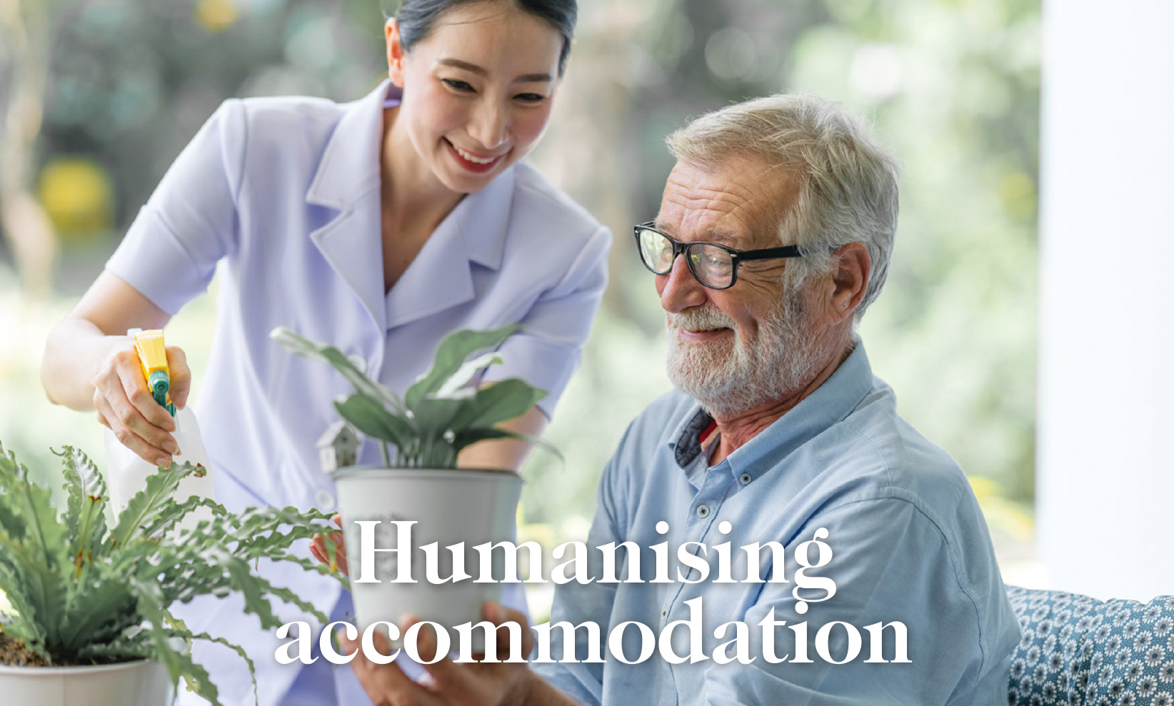 New thinking for aged care design.